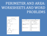 Perimeter and Area: Worksheets and Word Problems.