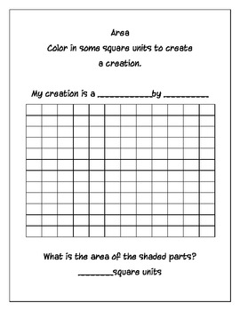 Perimeter and Area practice sheets