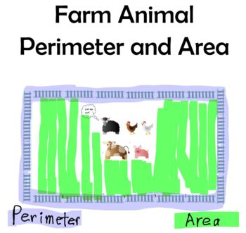 Perimeter and Area with Farm Animals