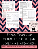 Modeling Linear Relationships Using Perimeter of Folded Paper