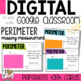 Perimeter find the Missing Measurement for Google Classroom