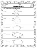 Perimeter for 3rd Grade #2