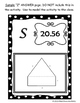 Perimeter of Composite (Compound) Figures Scavenger Hunt 7.G.B.4, 7.G.4