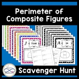 Perimeter of Composite (Compound) Figures Scavenger Hunt 7