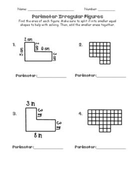 Perimeter of Irregular Figures and Polygons