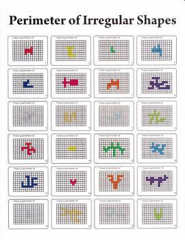 Perimeter of Irregular Shapes Worksheet