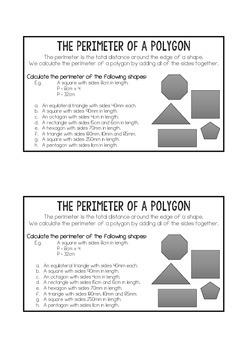 Perimeter of Polygons