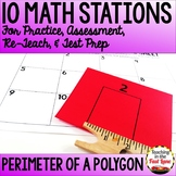 Perimeter of Polygons Stations