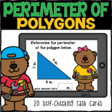Perimeter of Polygons Boom Cards | Distance Learning