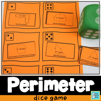 Perimeter of Polygons Roll and Play Dice Game