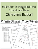Perimeter of Polygons in the Coordinate Plane: Christmas Edition!