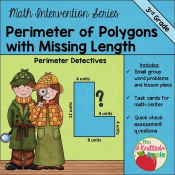 Perimeter of Polygons with Missing Lengths (3.7B)