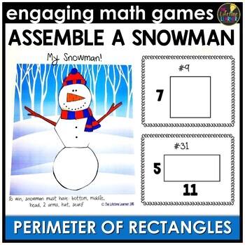 Perimeter of Rectangles Game