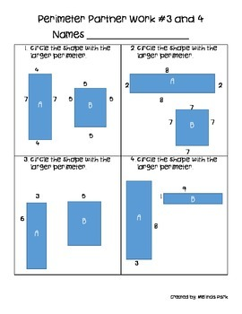 Perimeter of Shapes - Finding lengths of sides