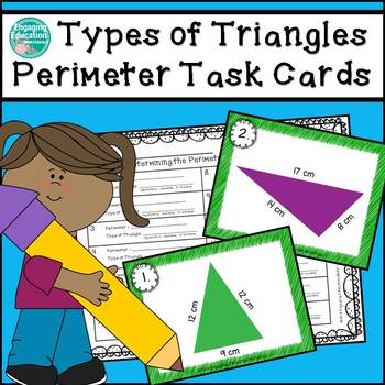 Types of Triangles Perimeter Task Cards