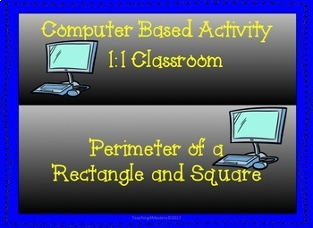 Perimeter of a Rectangle for 1:1 classroom
