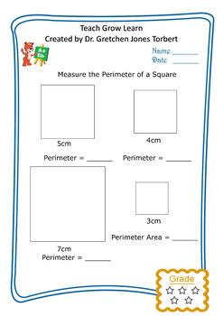 Perimeter of a square 1