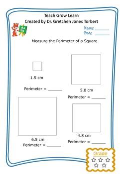 Perimeter of a square 4
