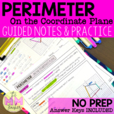 Perimeter on a Coordinate Plane: Notes & Practice