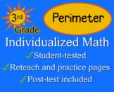 Perimeter, 3rd grade - worksheets - Individualized Math