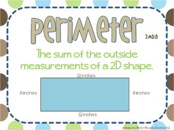 Perimeter with Missing Sides 3.MD.8