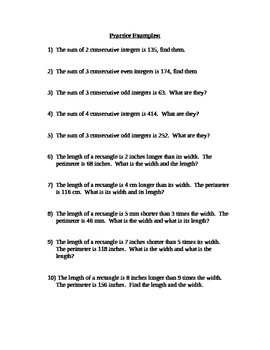 Perimeters and also even and odd numbers