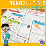 Period 3 Elements Scribble Notes (Patterns in the Periodic Table)