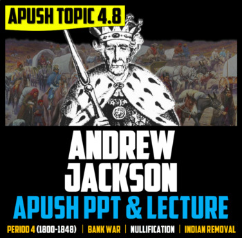 Andrew Jackson Powerpoint Worksheets Teaching Resources Tpt