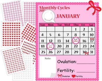 Period Planner 2015 Calendar and Digital Kawaii Stikers- Digital Clip Art (151)