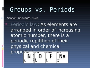 Periodic Trends Presentation (chemistry noble gases)
