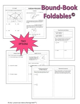 Algebra 2: Radian Measure