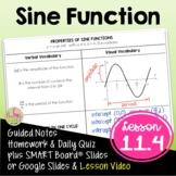 The Sine Function (Algebra 2 - Unit 11)