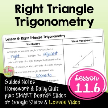 Algebra 2: Right Triangle Trigonometry