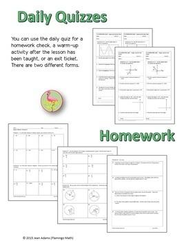Algebra 2: Introduction To Trigonometry Bundle