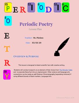 Periodic Poetry