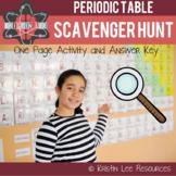 Periodic Table Scavenger Hunt