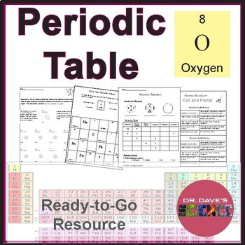 periodic table worksheets and resources periodic table worksheets and resources