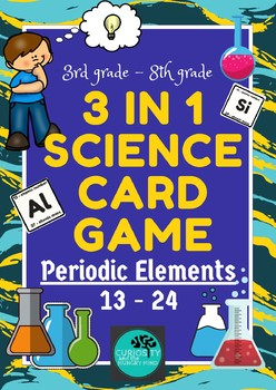 Periodic Table 3-in-1 Science Game - Elements 13-24