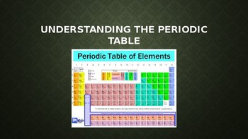 Chemistry - Periodic Table