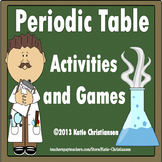 Periodic Table Activities to Print and Go!