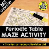Periodic Table Activity - MAZE