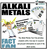 Periodic Table Alkali Metals Fact Fans