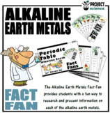 Periodic Table Alkaline Earth Metals Fact Fans