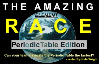Periodic table amazing element race game by kates classroom cafe periodic table amazing element race game urtaz Images