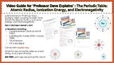 Periodic Table: Atomic Radius, Ionization Energy, & Electr