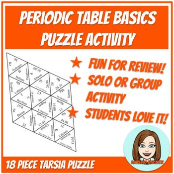 Periodic Table Basics Tarsia Puzzle
