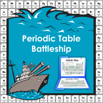 Periodic table battleship game by easy peasy central tpt periodic table battleship game urtaz Image collections