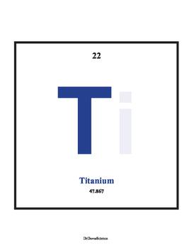 Periodic Table Bulletin Board