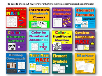 Periodic Table Bundle of Activities and Assessments