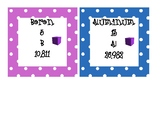 Periodic Table Cards - Color Coded Groupings